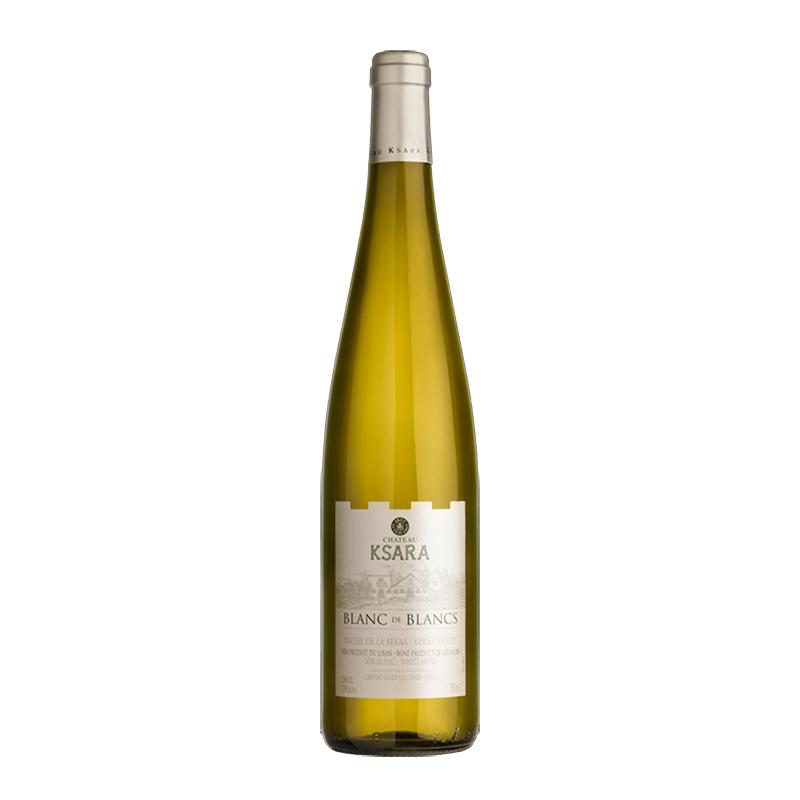 Chateau Ksara  Blanc de Blancs 2017 bei Weinstore24 - Ihr Spezialist für libanesische und exotische Weine