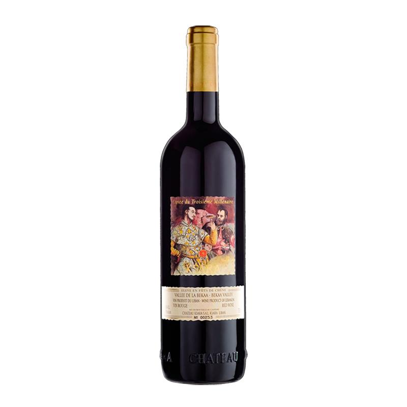 Chateau Ksara  Cuvee du III Millenaire 2008 bei Weinstore24 - Ihr Spezialist für libanesische und exotische Weine