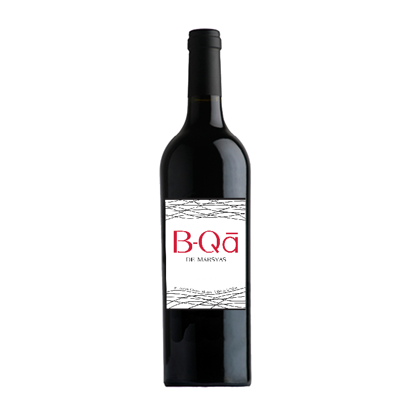 B-QA Rouge 2013 of Chateau Marsyas from the Lebanon