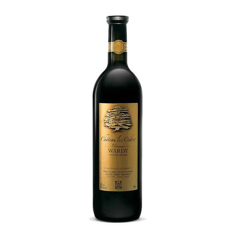 Domaine Wardy  Chateau les Cedres 2013 bei Weinstore24 - Ihr Spezialist für libanesische und exotische Weine