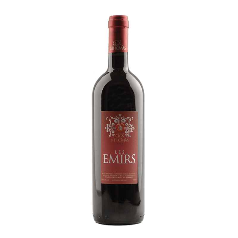 Les Emirs 2012 of Chateau Saint Thomas from the Lebanon