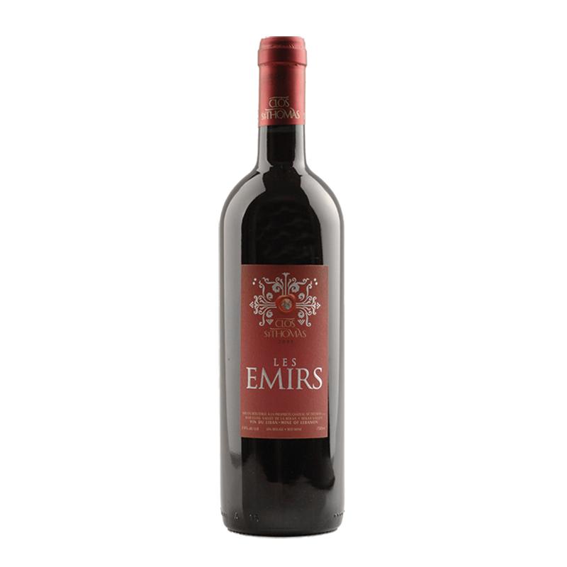 Chateau Saint Thomas  Les Emirs 2012 bei Weinstore24 - Ihr Spezialist für libanesische und exotische Weine