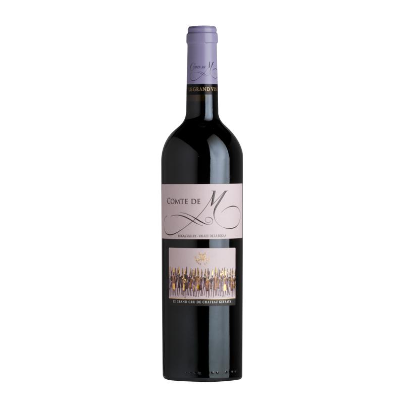 Chateau Kefraya  Comte de M 2008 bei Weinstore24 - Ihr Spezialist für libanesische und exotische Weine