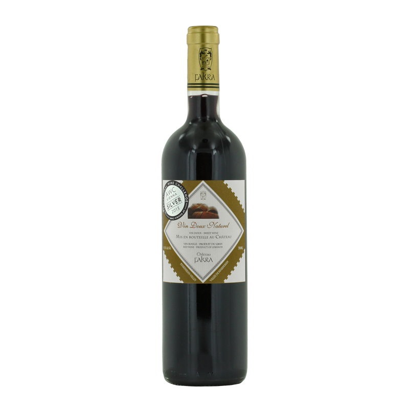 Vin Doux Naturel 2009 of Chateau Fakra from the Lebanon