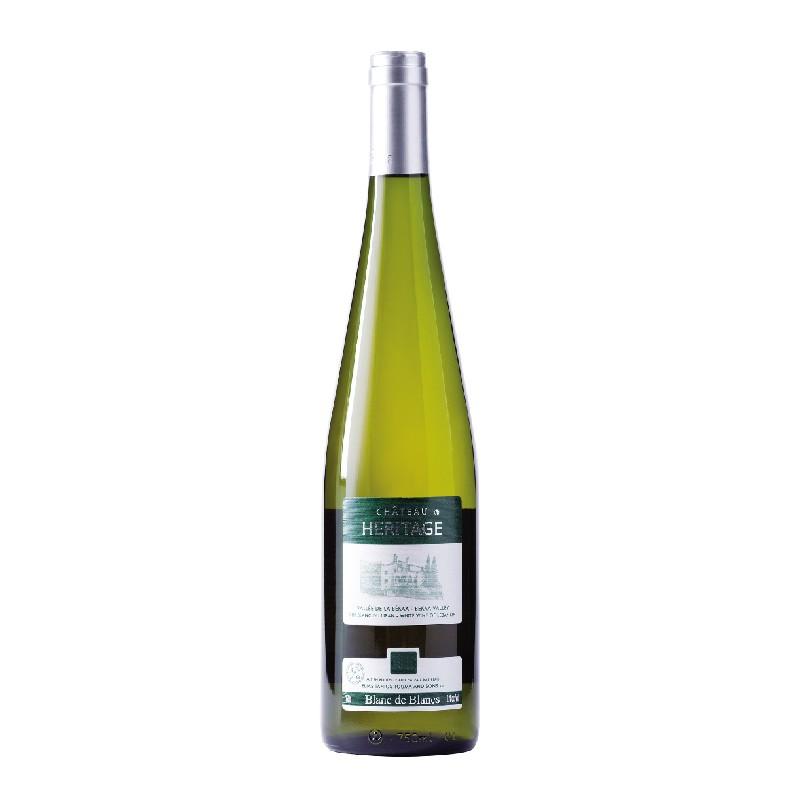 Chateau Heritage  Blanc de Blancs 2014 bei Weinstore24 - Ihr Spezialist für libanesische und exotische Weine
