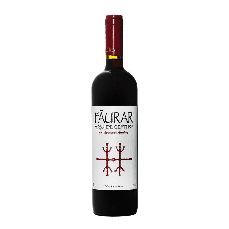 Faurar  Rosu de Ceptura 2014 bei Weinstore24 - Ihr Spezialist für libanesische und exotische Weine