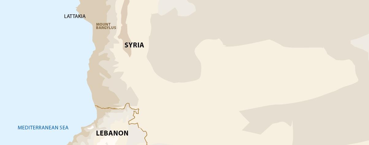 Libanon Gebirge