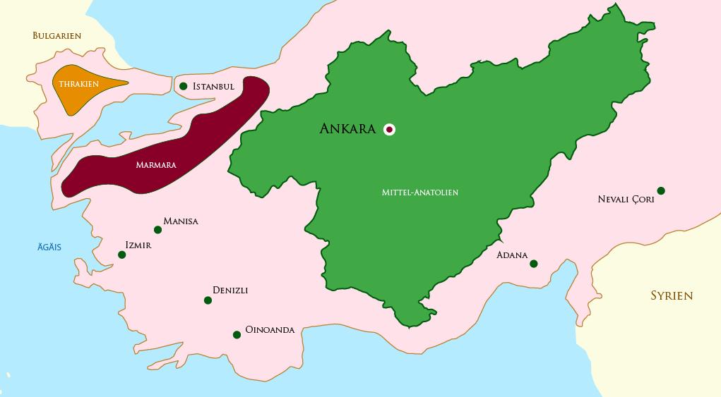 Mittel Anatolien