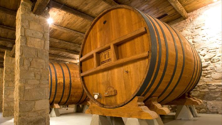 Cellar of Baron de Ley