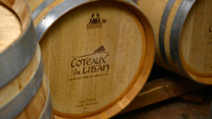 Barriques of Coteaux du Liban