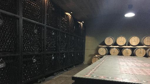 Wine bottles of Atibaia