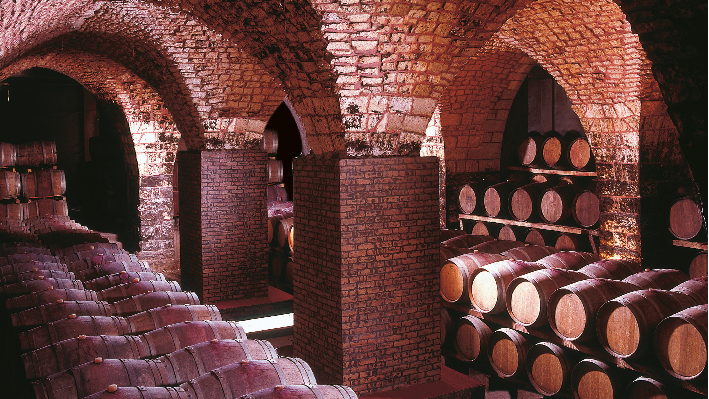 Wine cellar of Chateau Musar
