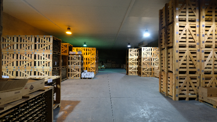 Storage of Domaine Wardy