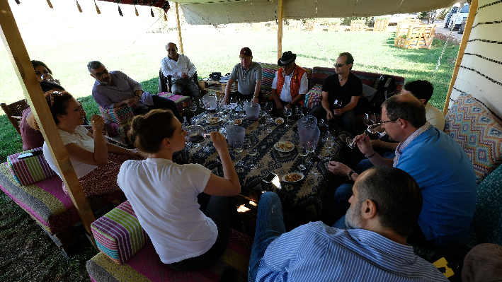 Wine Tasting Domaine Wardy