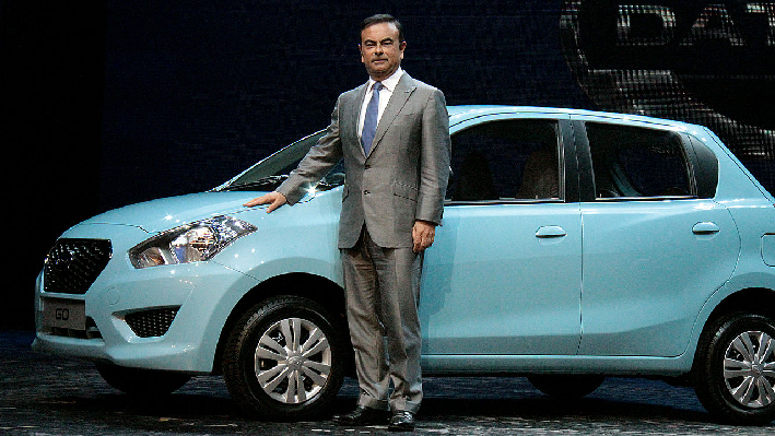 Carlos Ghosn, CEO of Renault-Nissan